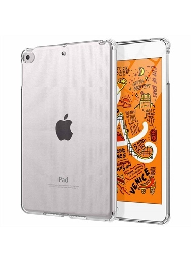 Microsonic Apple İpad Mini 5 7.9'' 2019 (A2133-A2124-A2125-A2126) Shock Absorbing Şeffaf Renksiz